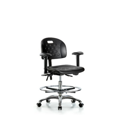 Alexandra Ergonomic Office Chair Casters/Glides: Casters, Tilt Function: Included