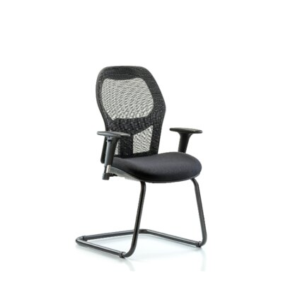 Brody Executive Desk Height Guest Chair Arm Options: Included