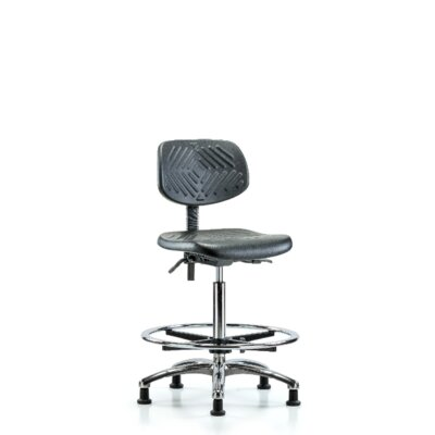 Kasandra Ergonomic Office Chair Casters/Glides: Glides, Tilt Function: Included