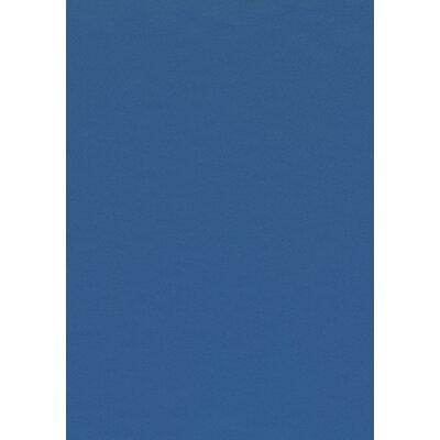 Oval 3 Piece Adjustable Pub Table Set Color: White/Blue