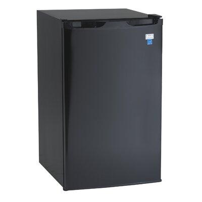 Avanti 4.4 cu. ft. Compact Refrigerator with Freezer Finish/Color: Black