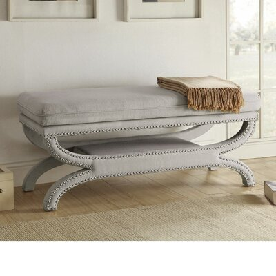 Leiker Patently Trendy Metal Storage Bench