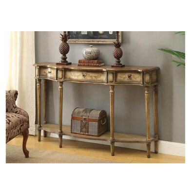 Cluff Breakfront Console Table