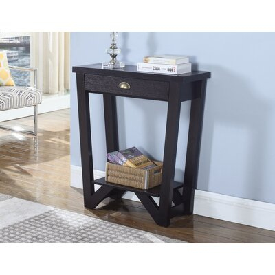 Ragland Transitional Style Wooden Console Table