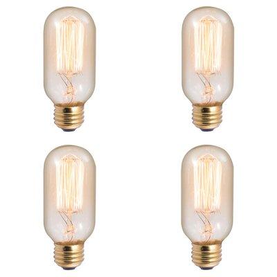 40W E26 Dimmable Incandescent Stick Light Bulb Antique