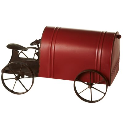 Tractor Post Mounted Mailbox
