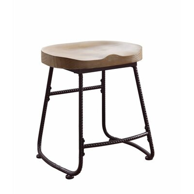 "Pinter Rustically Charmed Metal 19"" Dining Bar Stool"