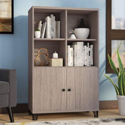 Rolfe Fiberboard 2 Drawer Cabinet Color: Gray