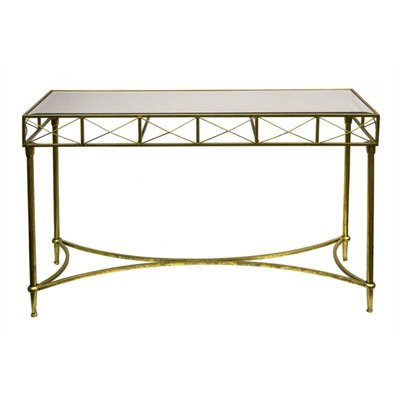 Bamard Patently Metal Console Table