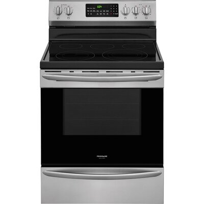 """30"""" Free-standing Electric Range with Griddle"""