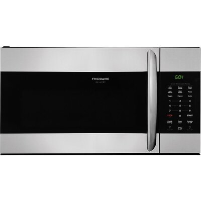 """Gallery 30"""" 1.7 cu. ft. Over-The-Range Microwave Finish: Stainless Steel"""