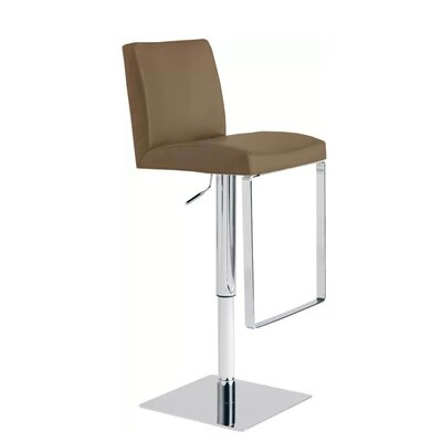 Crossley Adjustable Height Swivel Bar Stool
