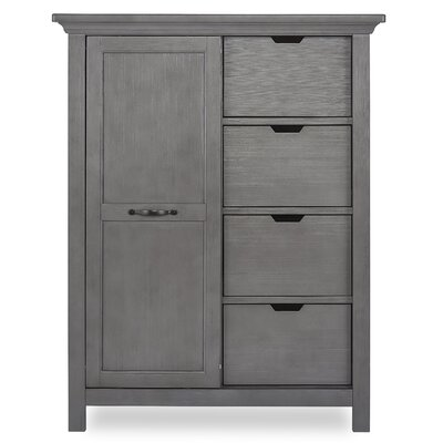 Belmar 3 Drawer Accent Chest Color: Rustic Gray