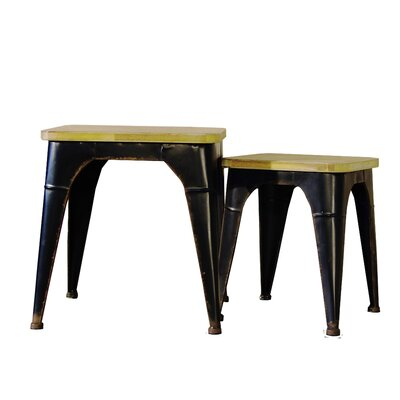 Whitchurch 2 Piece Accent Stool Set