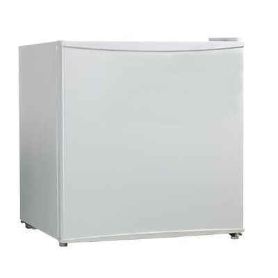 1.6 cu. ft. Compact Refrigerator Finish: White