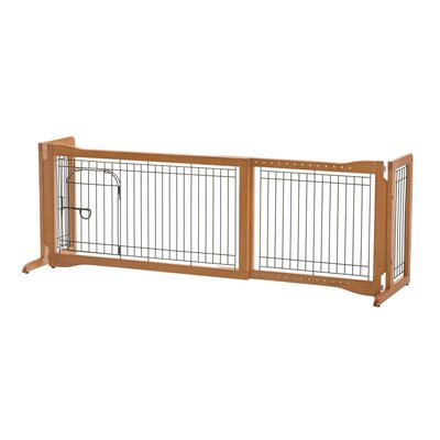 Pet Sitter Freestanding Plus Autumn Matte Pet Gate