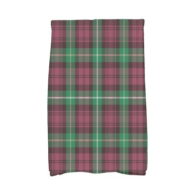 Welliver Tartan Plaid Holiday Hand Towel Color: Red