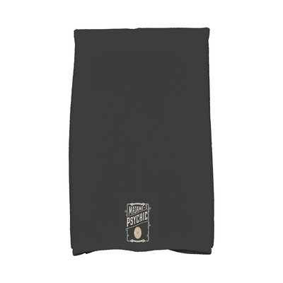 Maser the Psychic Eye Halloween Hand Towel Color: White