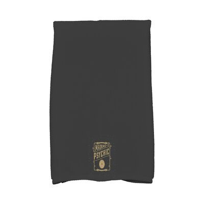 Maser the Psychic Eye Halloween Hand Towel Color: Gold