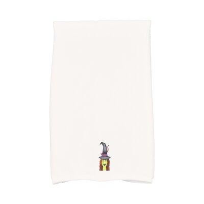 Maser Hat Halloween Hand Towel Color: White