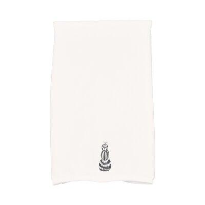 Maser Pumpkin Stack Halloween Hand Towel Color: White