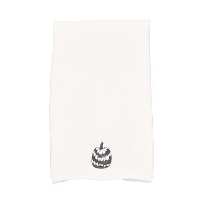 Maser Pumpkin Single Halloween Hand Towel Color: White