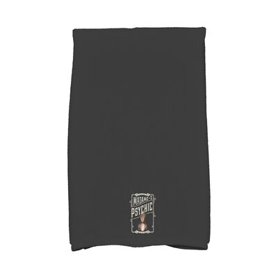 Maser Madame Psychic Halloween Hand Towel Color: White