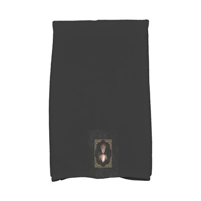 Maser All Seeing Psychic Halloween Hand Towel Color: Gold