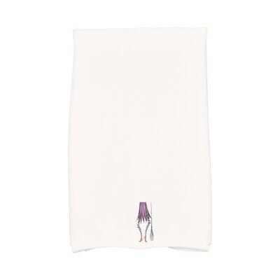 Maser Halloween Hand Towel Color: White