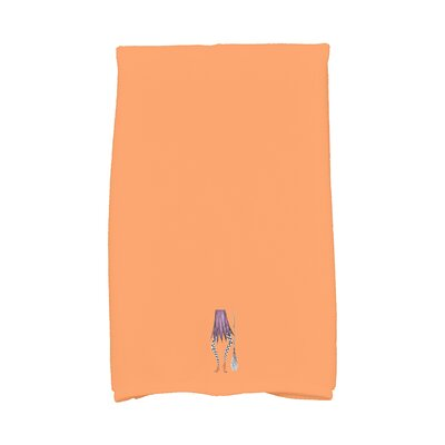 Maser Halloween Hand Towel Color: Orange