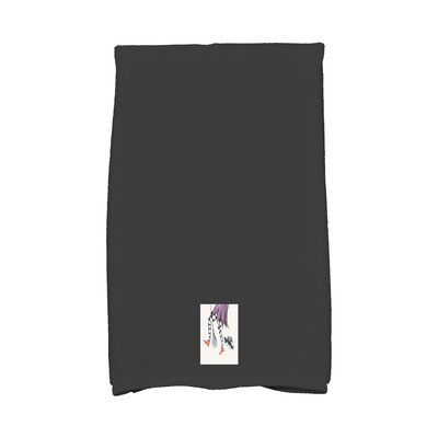 Maser Fly Away Halloween Hand Towel Color: White