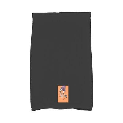 Maser Fly Away Halloween Hand Towel Color: Orange