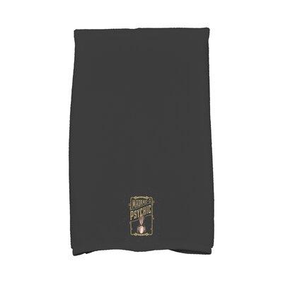 Maser Madame Psychic Halloween Hand Towel Color: Gold