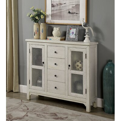 Princess Hallway Accent Cabinet Finish: Antique White