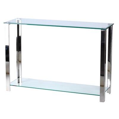 Schwenzer Double Shelf Console Table