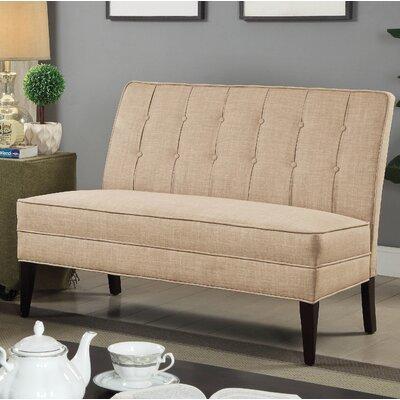 Ballyrashane Upholstered Bench Upholstery: Beige