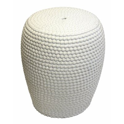 Addison Avenue Buttoned Garden Stool