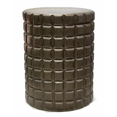 Mckeown Retro Garden Stool Color: Gold
