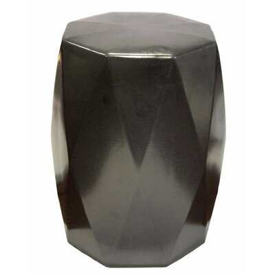 Keiper Diamond Edge Garden Stool Color: Black