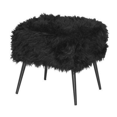 Mcnair Sturdy Vanity Stool Color: Black