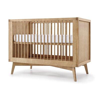 Zajac Retro 3-in-1 Convertible Crib Color: Hazelnut