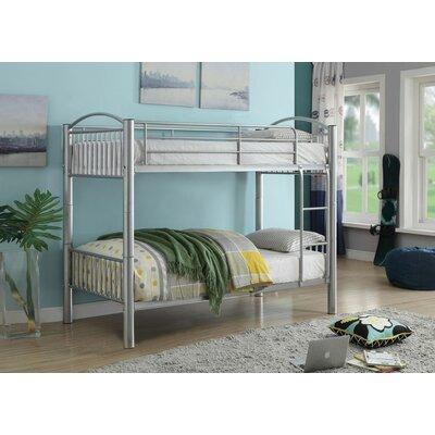 Brugger Bunk Bed Bed Frame Color: Silver, Size: Full