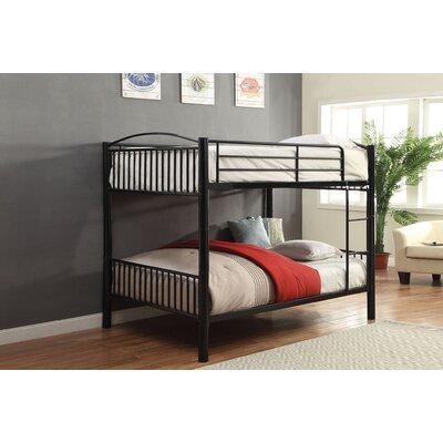 Brugger Bunk Bed Bed Frame Color: Black, Size: Full