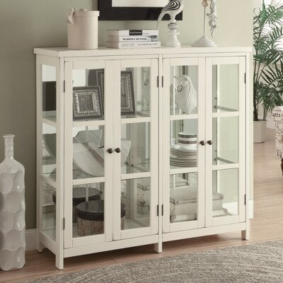 Filon Transitional Style Wooden Accent Cabinet