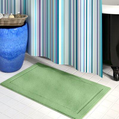 "Raelene Bath Rug Color: Sage, Size: 20"" W x 32"" L"