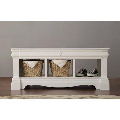 Romans Wood Storage Bench