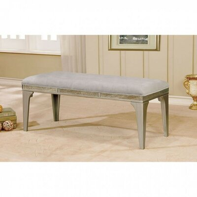 Whetsel Wooden Wood Bench