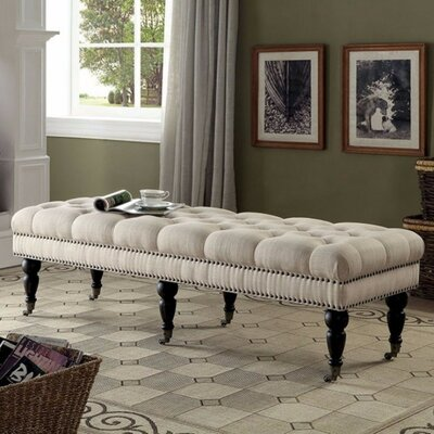 Kleist Plushy Upholstered Bench