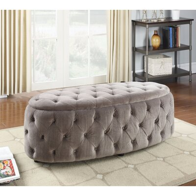 Parrella Tufted UpholsteredBench