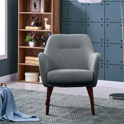 Dressler Armchair Upholstery: Gray Polyester
